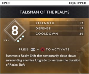 Talisman Of The Realms