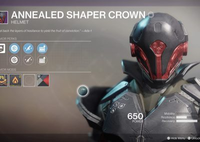 Warlock Helmet
