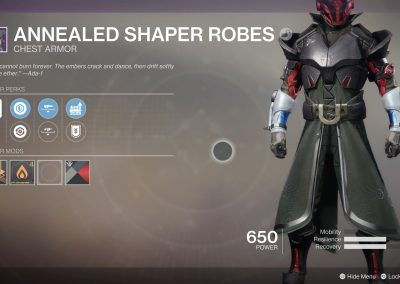 Warlock Chest Piece