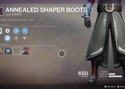 Warlock Boots