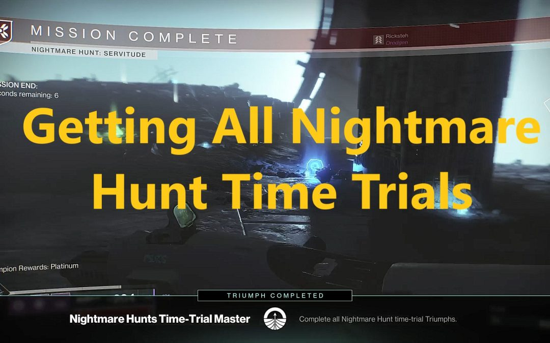 Master Nightmare Hunt: Complete Guide For All Guardians